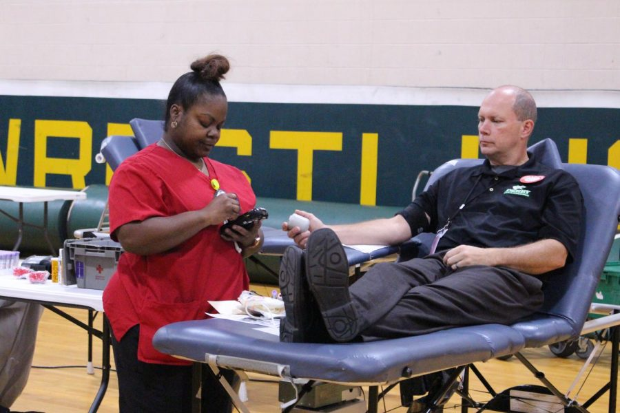Blood Drive at Derby High (Photos by Jillian Jackson)