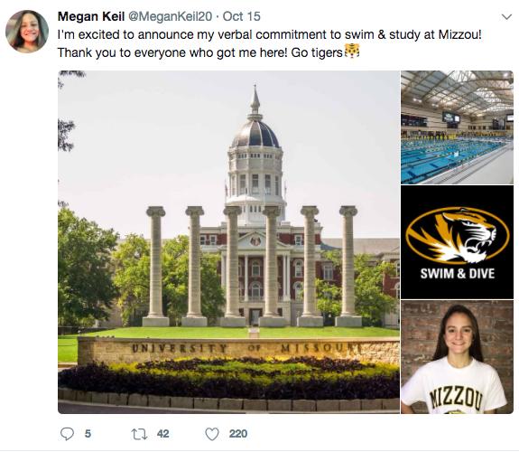 Panthers Keil commits to Mizzou