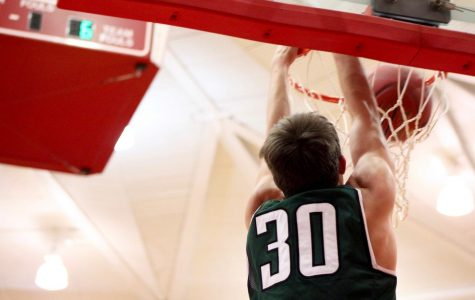 Varsity boys basketball at McPherson photo gallery