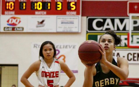 Varsity girls basketball at Maize photo gallery