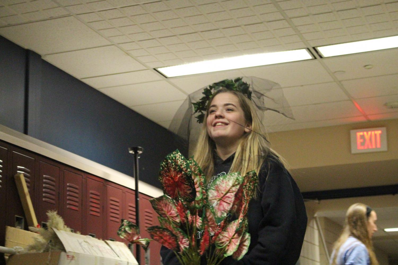 Freshman Ellie Tanner.