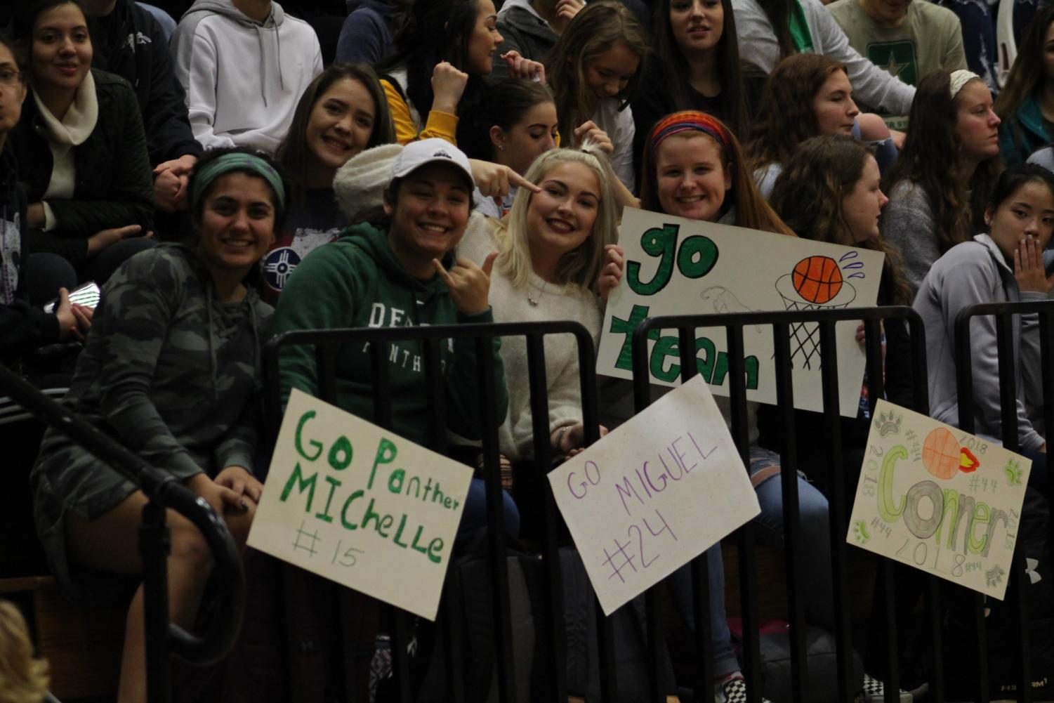 Panther Pals Basketball (Photos by Abby Glanville)