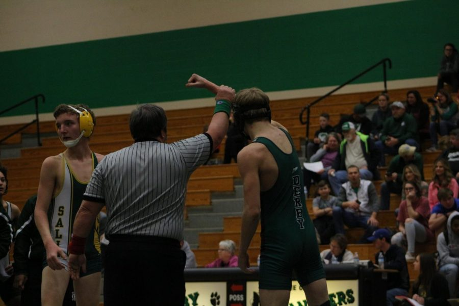 Wrestling Dual v. Salina South (Photos by Abby Glanville)