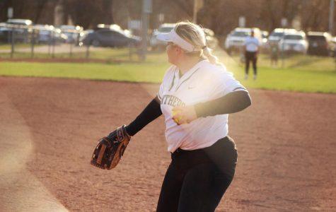 Softball vs. Maize (April 17) photo gallery by Regina Waugh