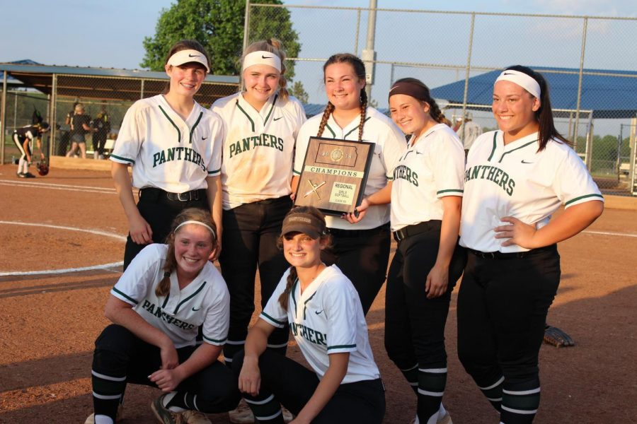 Derby Softball regional trophy photo gallery (photos by Kaitlyn Strobel)