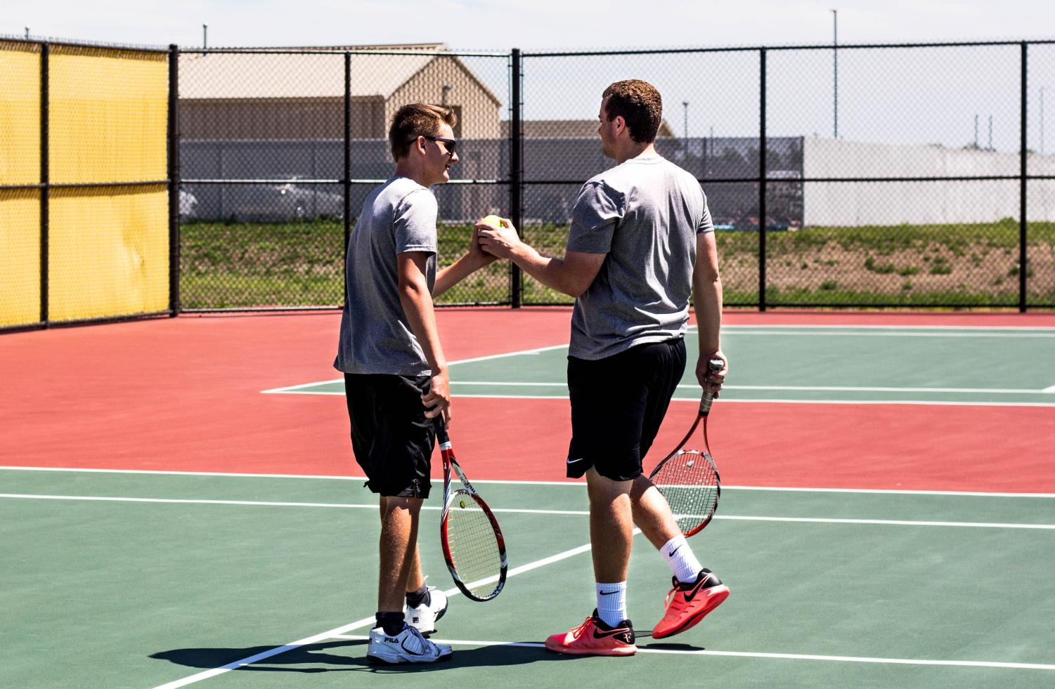 Boys tennis regionals at Southeast (Photo gallery by Devon DuBree)