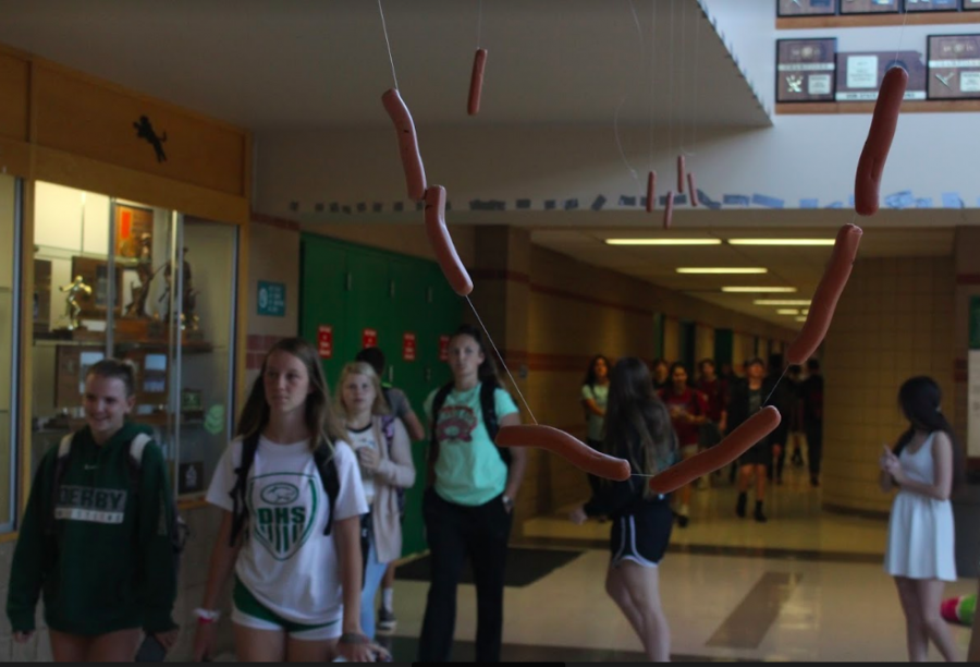 Seniors' last day includes hot dog prank