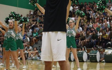 Freshman pep assembly 8/16/18 (Photos by Reagan Cowden)