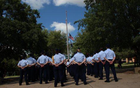 9/11 AFJROTC Ceremony (photos by Caitlyn Dunn)