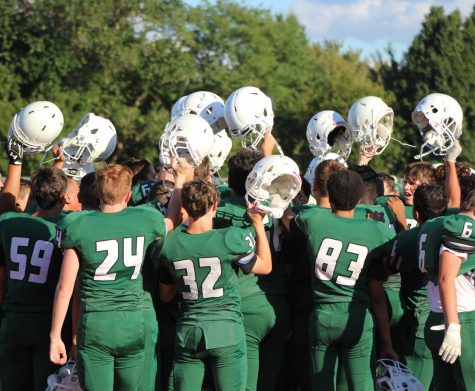 Derby vs. Garden City football (Photos by Grace Reich) – Panther\'s Tale