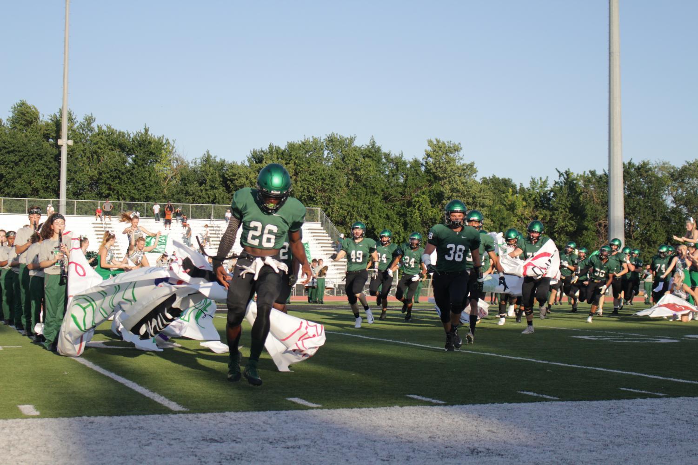 Varsity football vs. Garden City 8/31/18 (Photos by Alexandra Arthur)