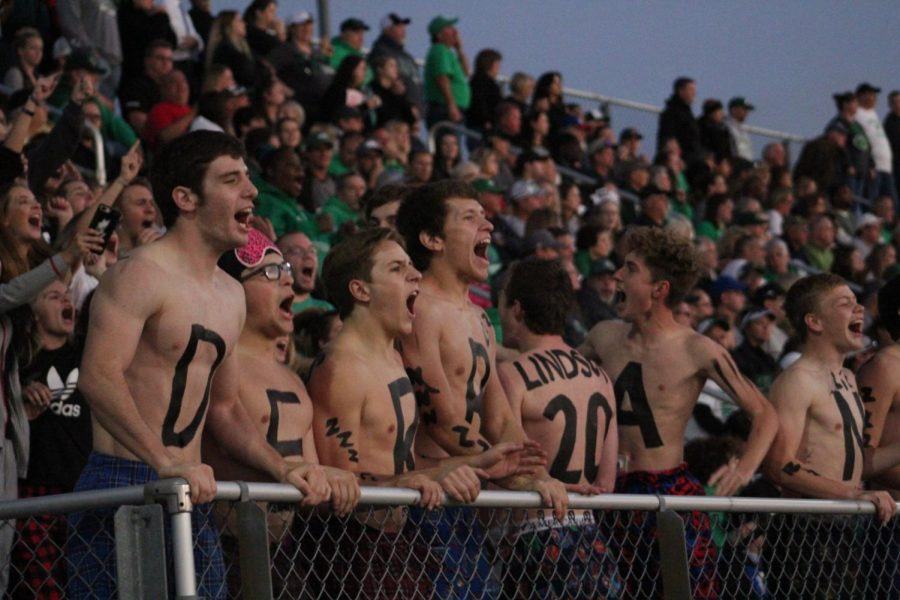 10/19 Student section photo gallery by Grace Reich
