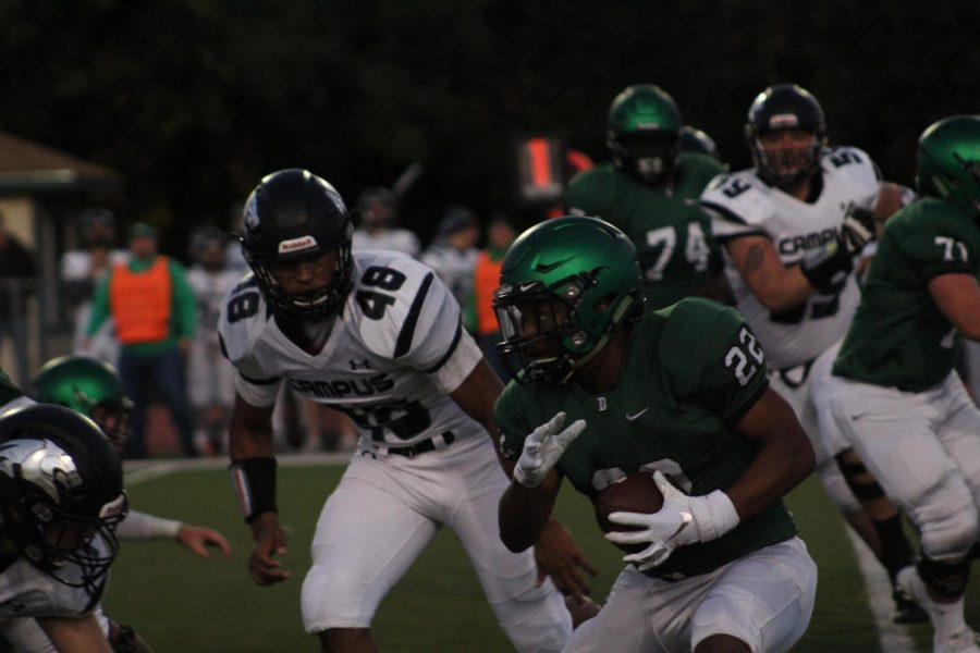 Derby vs. Campus Football photo gallery (Photos by Grace Reich)