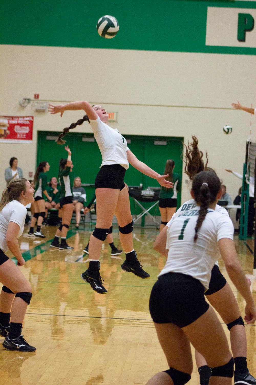 Volleyball triangular 10/09/18 (Photos by Reagan Cowden)