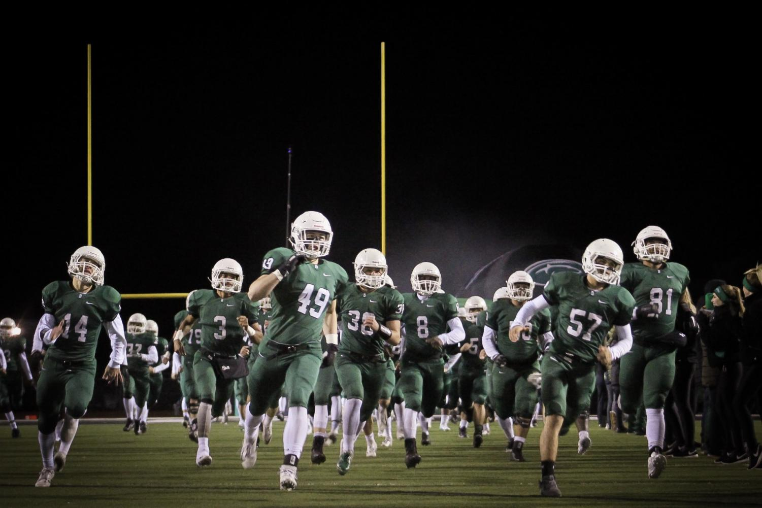 Derby vs. Topeka Football photo gallery (Photos by Grace Reich)
