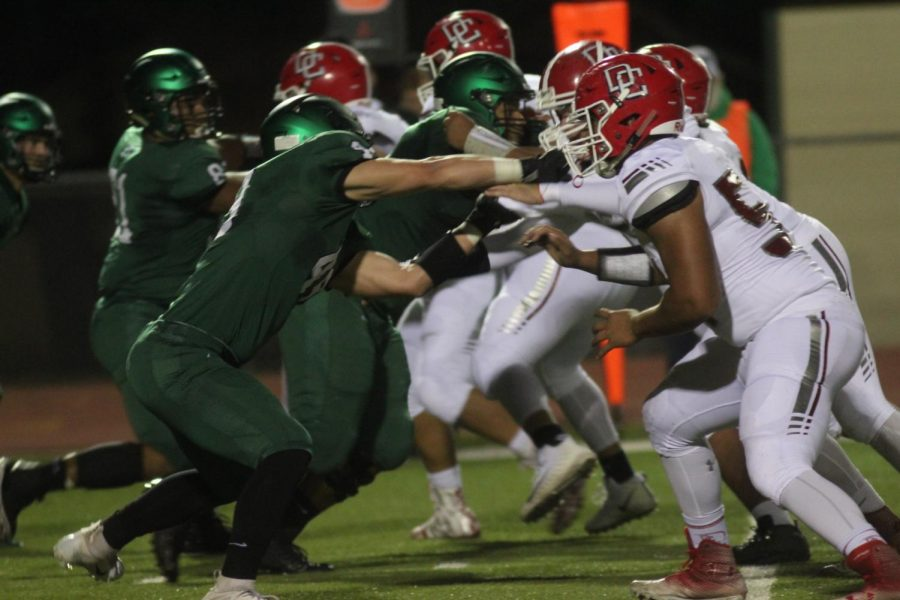 Derby vs. Dodge City Football photo gallery (Photos by Grace Reich)