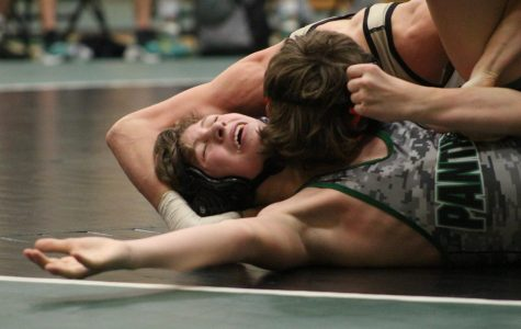 Varsity Wrestling Dual v. Newton 1/17 (Photos by Kiley Hale)