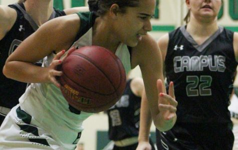 1/8 Girls basketball rivalry game vs. Campus photo gallery by Regina Waugh