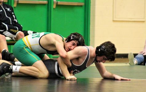 Varsity wrestling Derby vs. Campus 1/24 (Photos by Maria Magi)