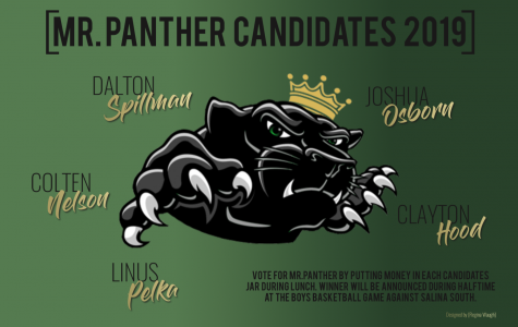 Mr. Panther Candidates 2019