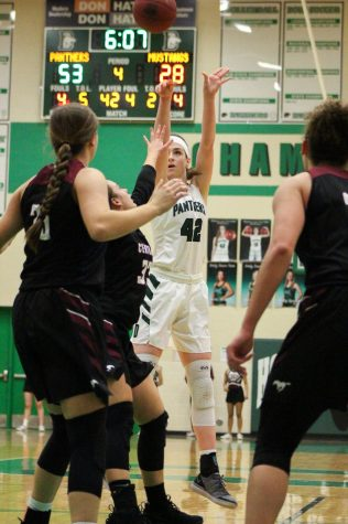 1/29 girls basketball vs. Hutch photo gallery by Grace Reich