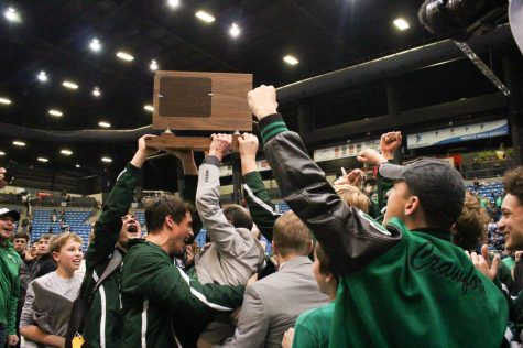 Derby Wrestling Wins 2019 6A State Championship