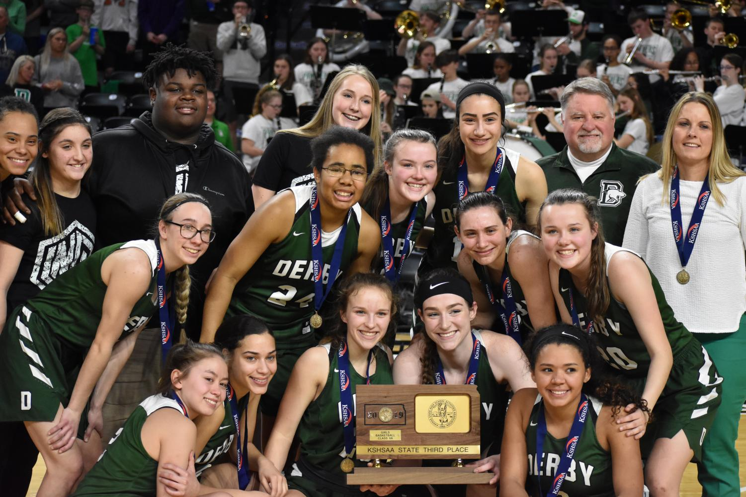 03/09/19 Derby vs. Olathe Northwest 6A girls state tournament (photo gallery by Damien Matmanivong)