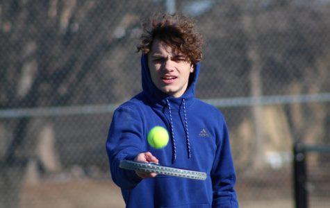 Boys Tennis Practice 3/5 (Photo by Kiley Hale)