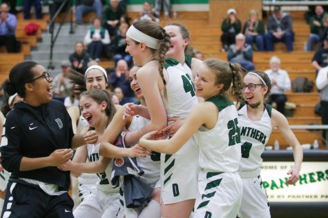 Derby girls basketball beats Olathe Northwest to win third place in 6A state tournament