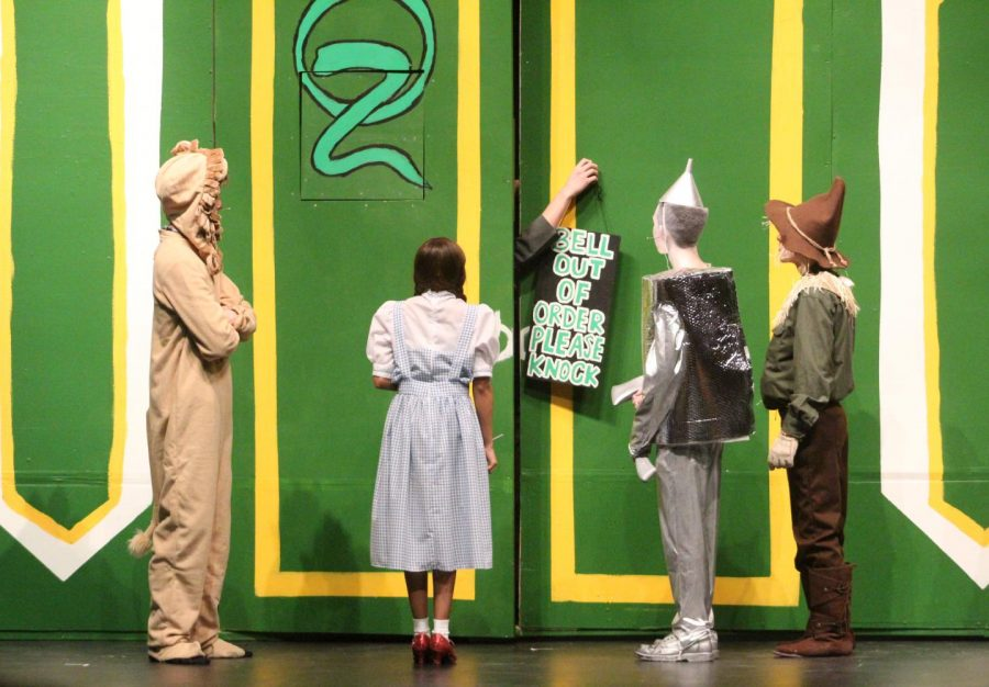 Drama Production: Wizard of Oz  - Opening Night 3/7