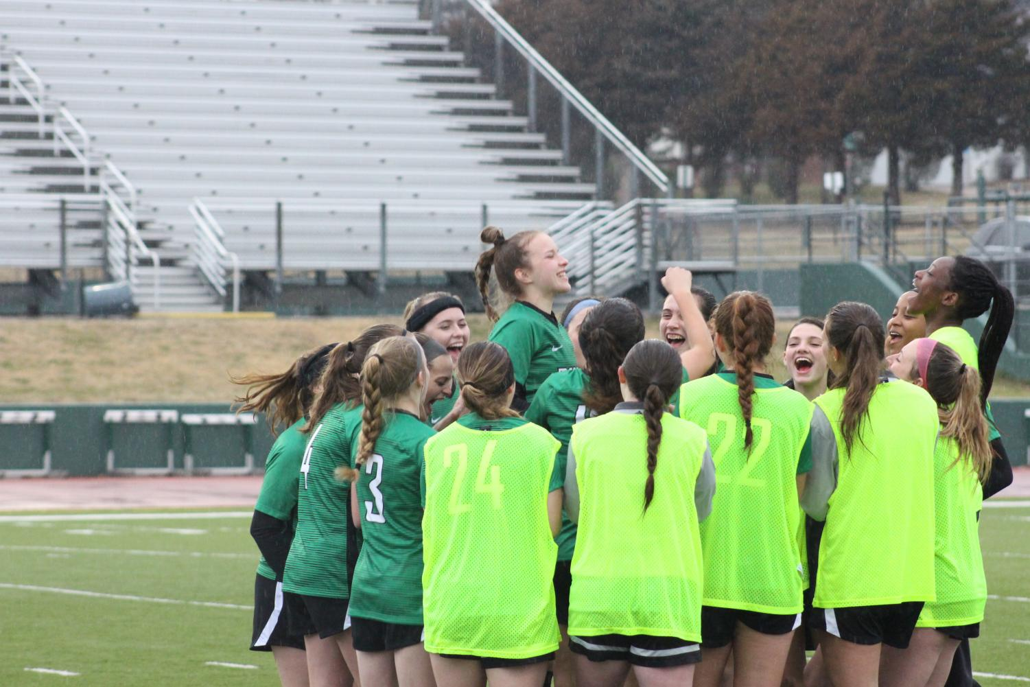3/19 Derby vs. Valley Center Girls' Soccer (by Callie Knudson)