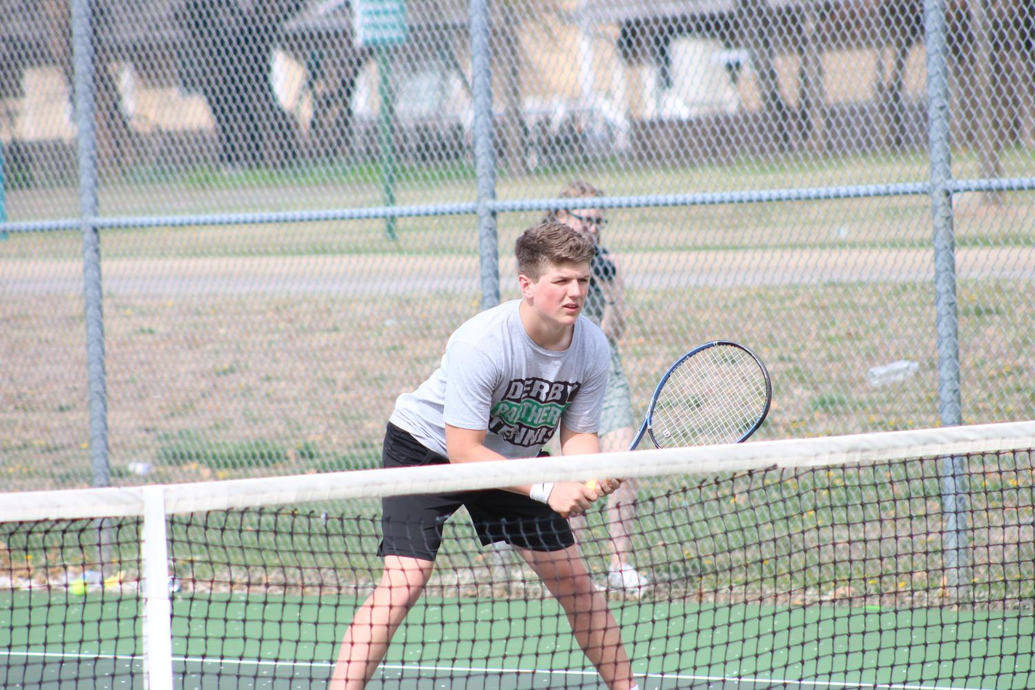 Boys Tennis Varsity Home Meet 4/10 (Photos by Kiley Hale)