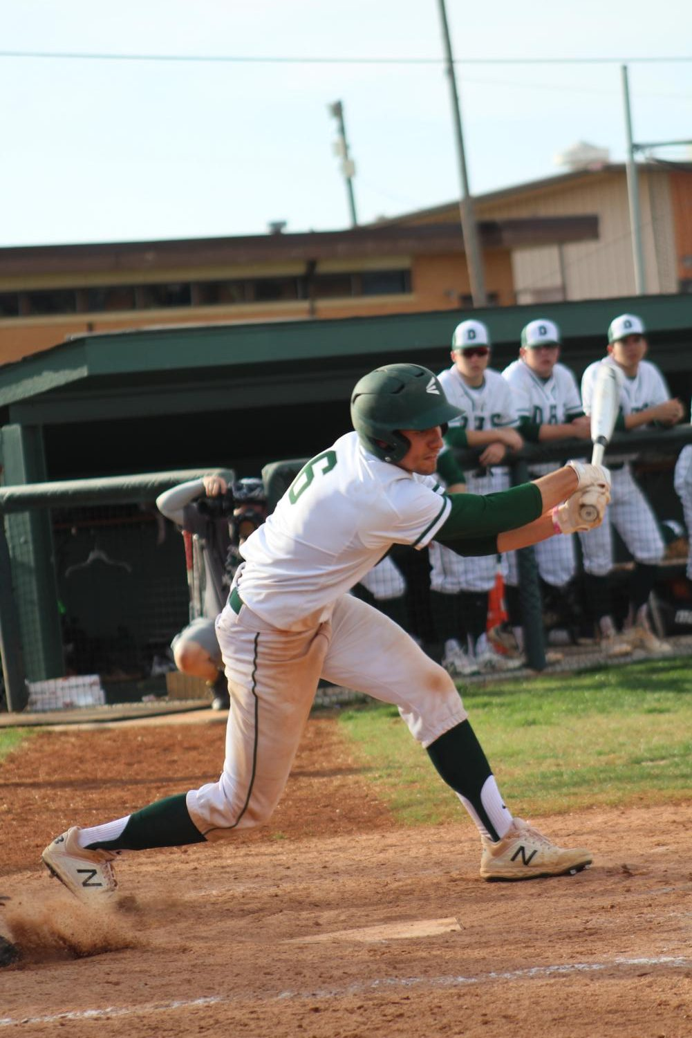 4/9 Derby Varsity Baseball vs. Hutchinson photo gallery by Grace Reich