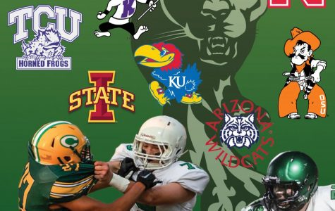 Junior Alex Conn with seven football offers