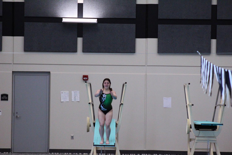 Sophomore%2C+Sophia+Digregorio+before+she+throws++her+dive.
