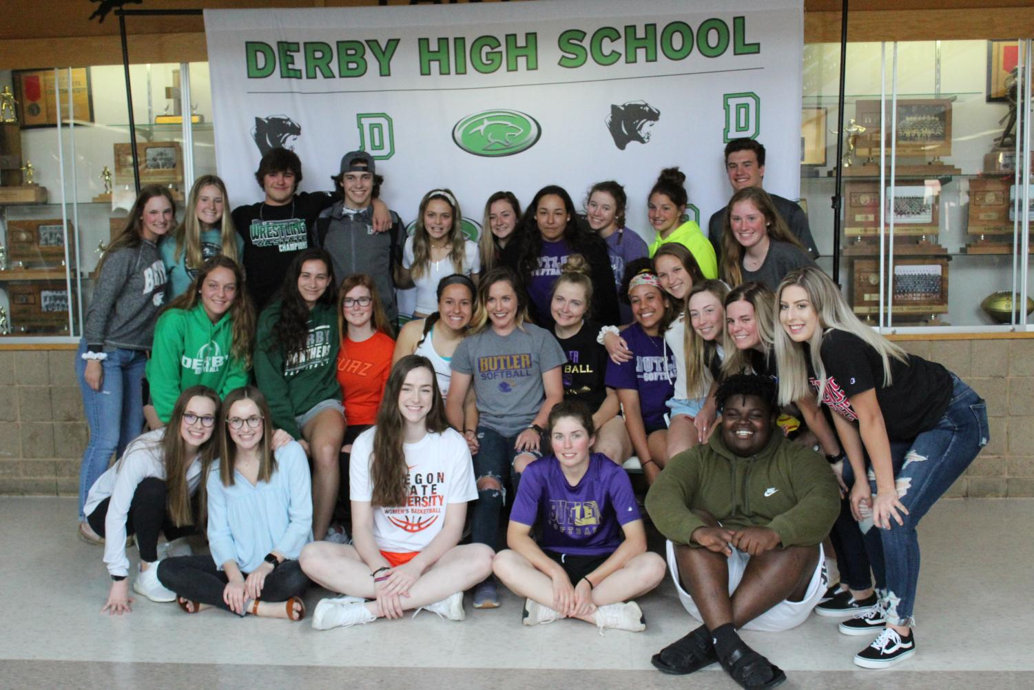 Senior Signing Day (4/17/19) Photos by Morgan Humphrey