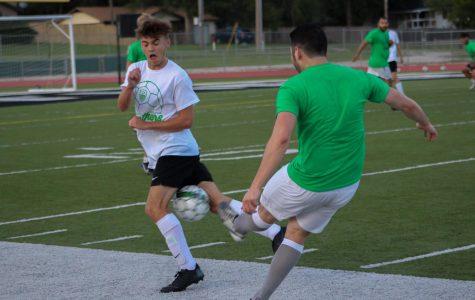 Derby Soccer Alumni Game  Photos by Breanna Mehringer