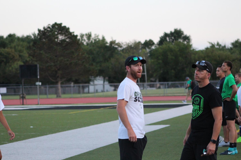Coach+Paul+Burke+and+Chad+Schwartz