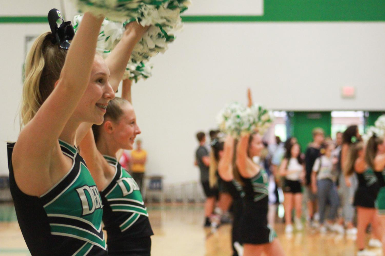 Freshman pep assembly (Photos by Jay Warrick)