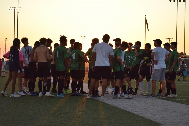 Boys' varsity soccer vs. Liberal (Photos by Damien Matmanivong)