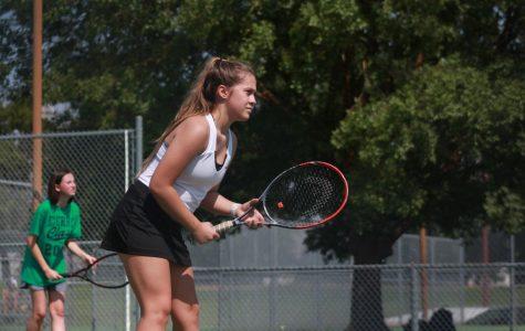 Girls' tennis vs. Campus (Photos by Sara Brown)