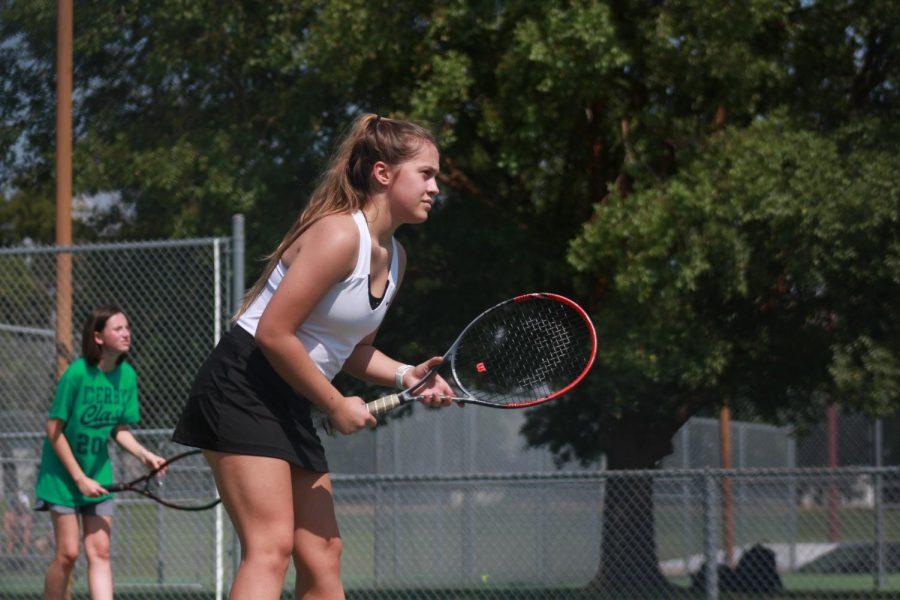 Girls tennis vs. Campus (Photos by Sara Brown)