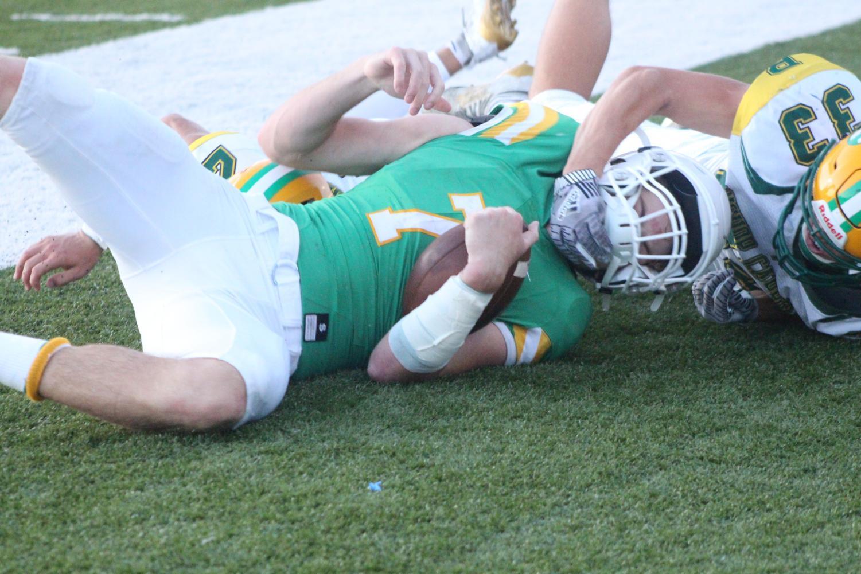 Homecoming varsity football v. Bishop Carroll (Photos by Mya Studyvin)