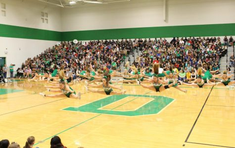 Fall pep assembly (Photos by Callie Knudson)