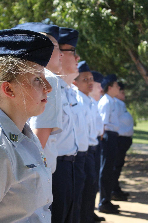 9/11 ceremony  (Photos by Alyssa Lai)
