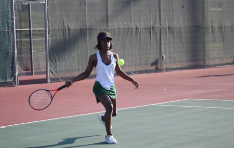 Varsity and JV tennis at Emporia (Photos by Kiley Hale)