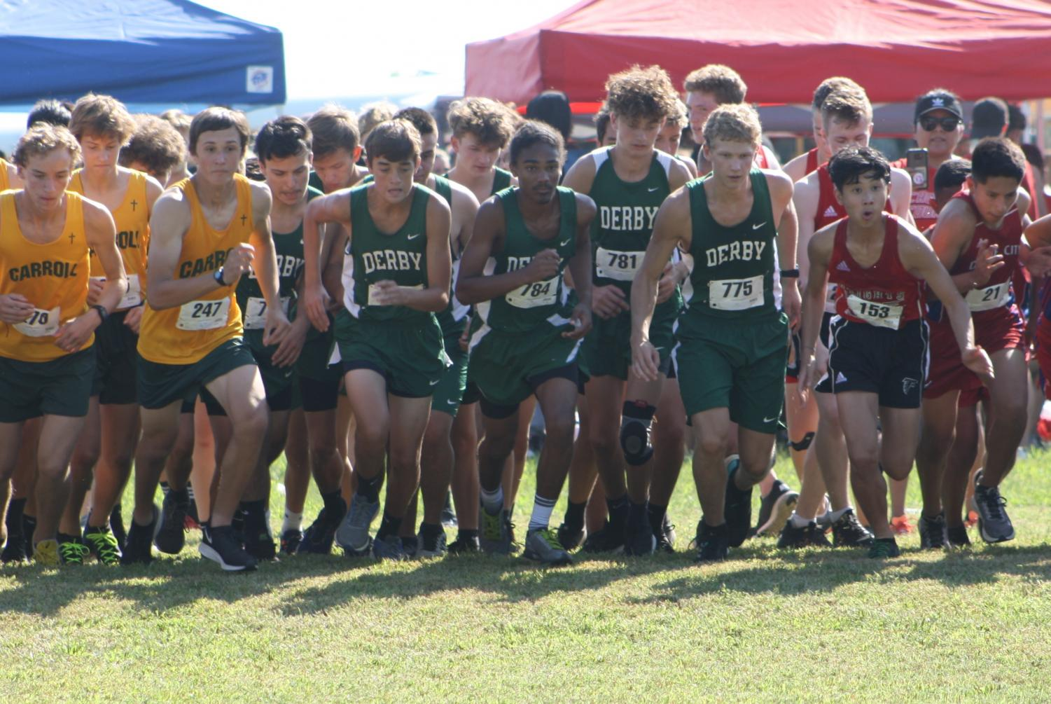 Cross country Lake Afton meet (Photos by Reese Cowden)