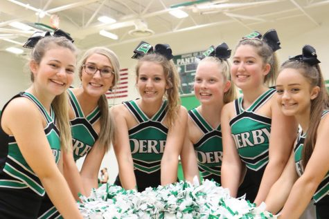 Derby volleyball vs. Maize South (Photos by Callie Knudson)