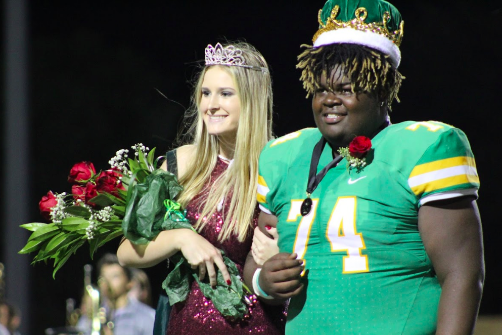 Kevin Washington, Kinley Fager named Derby Homecoming King, Queen