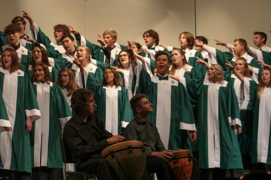 Fall vocal music concert (Photos by Sara Brown)
